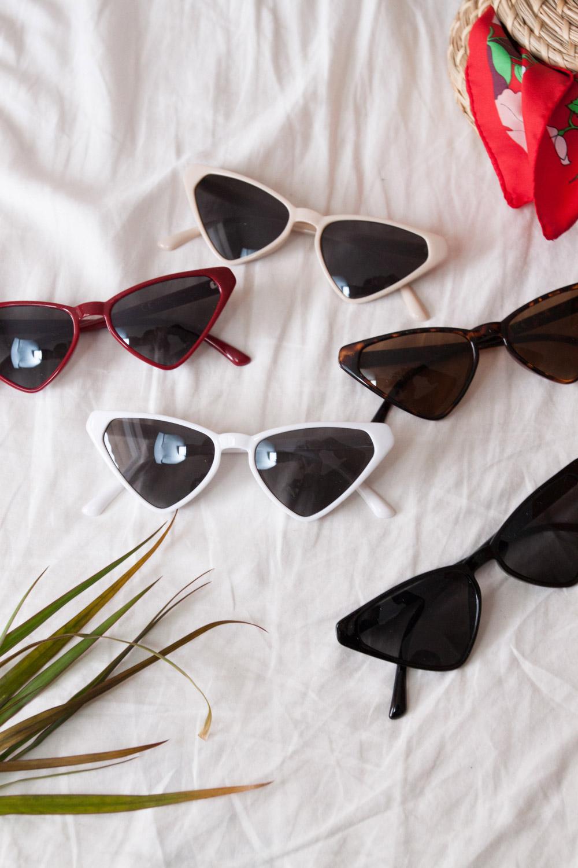 d4081e13a7 Τριγωνικά cat-eye γυαλιά ηλίου