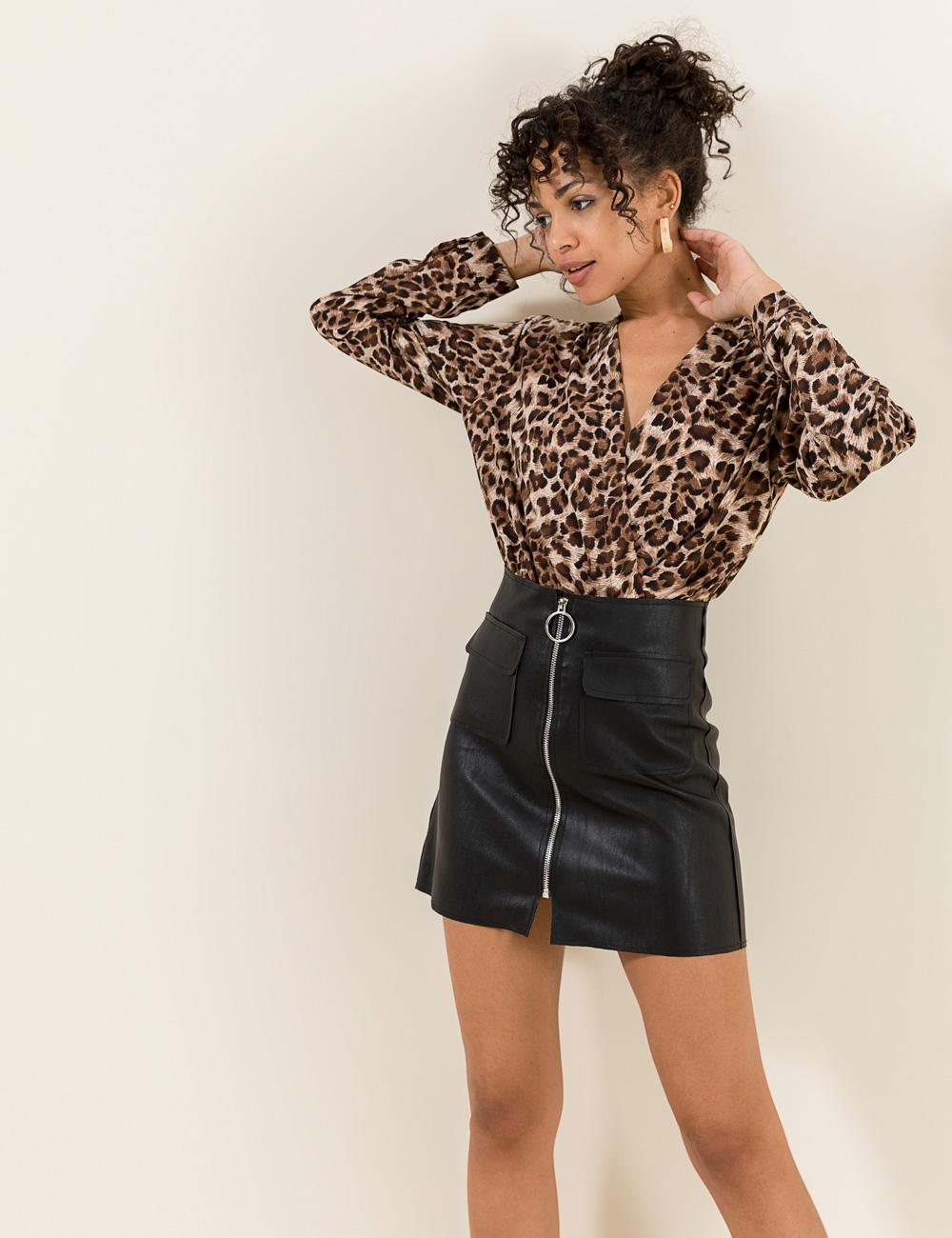 29e3cfab36b Κοντή φούστα φερμουάρ | Mindyourstyle.gr