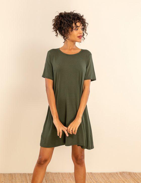 Κοντομάνικο φόρεμα