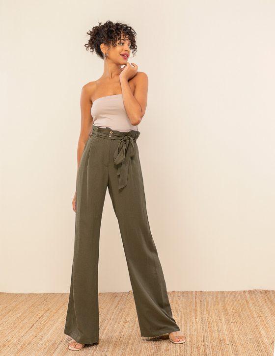Λινή παντελόνα