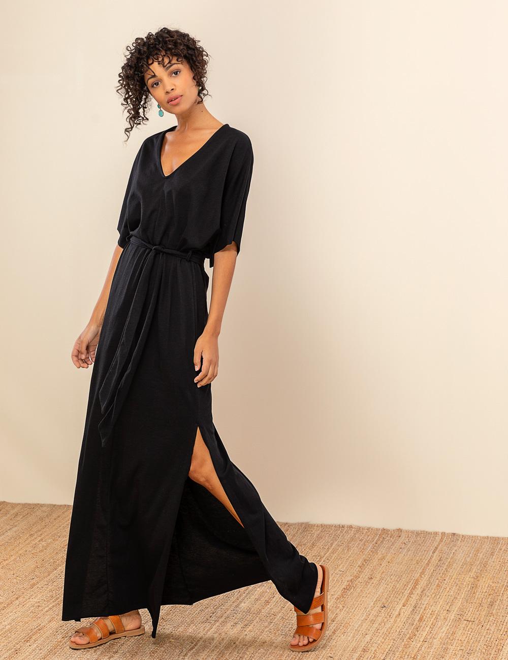 026a3de9d99c Ζαπονέ maxi φόρεμα