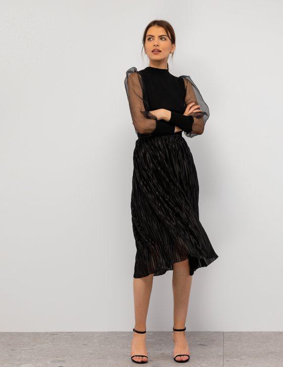 Σατέν φούστα