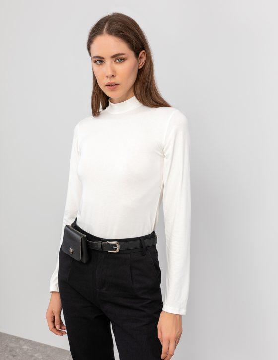 Μακρυμάνικη μπλούζα ζιβάγκο