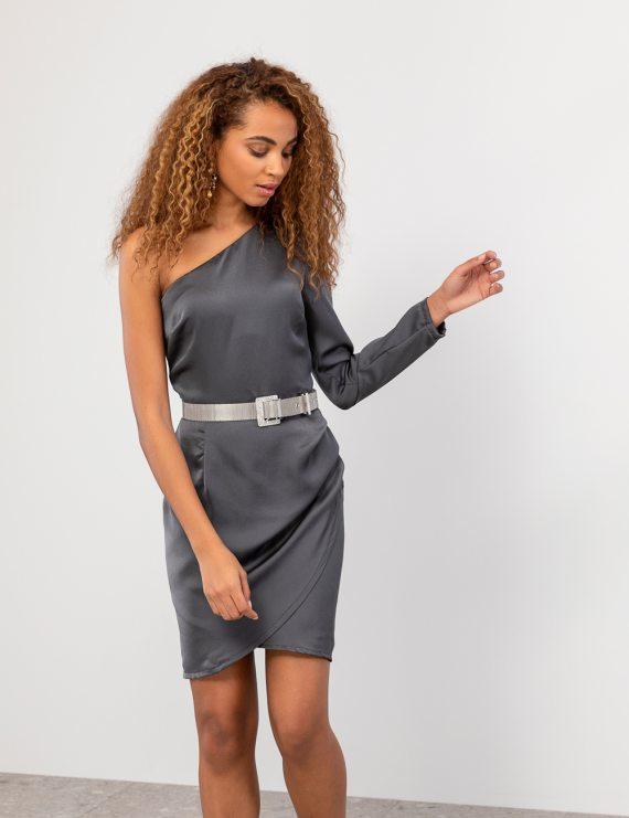 Σατέν φόρεμα