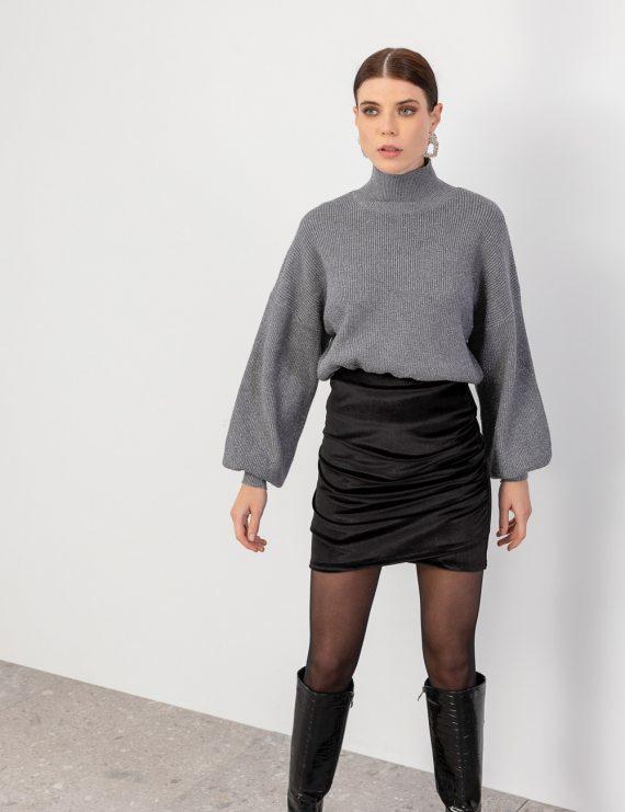 Βελούδινη φούστα σούρες