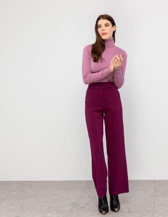 Ψηλόμεσο ίσιο παντελόνι
