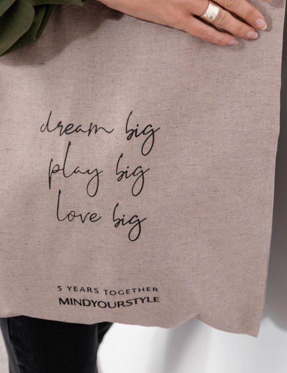 Πάνινη shopper bag
