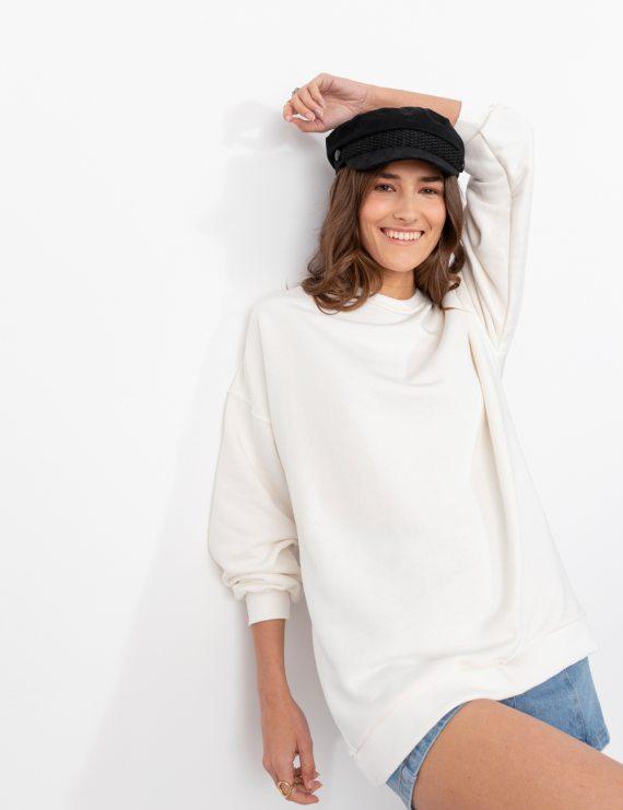 Μακρια φούτερ μπλούζα