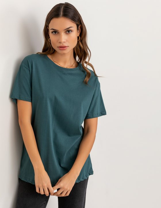 Basic κοντομάνικη μπλούζα