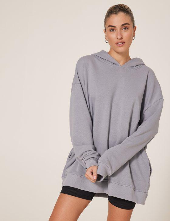 Γυναικεία μπλούζα με φούτερ και κουκούλα